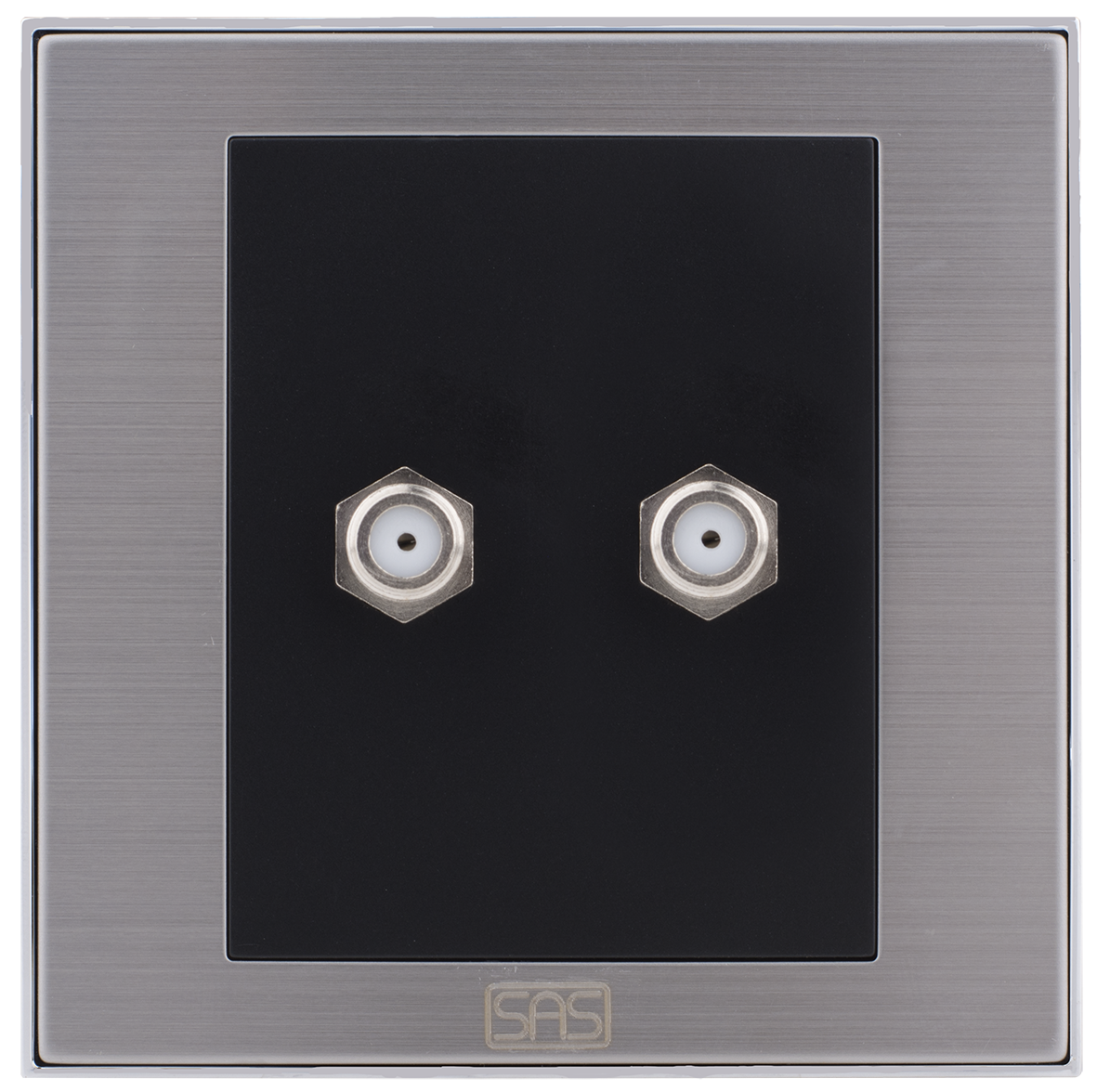 Double satellite socket (7x7)