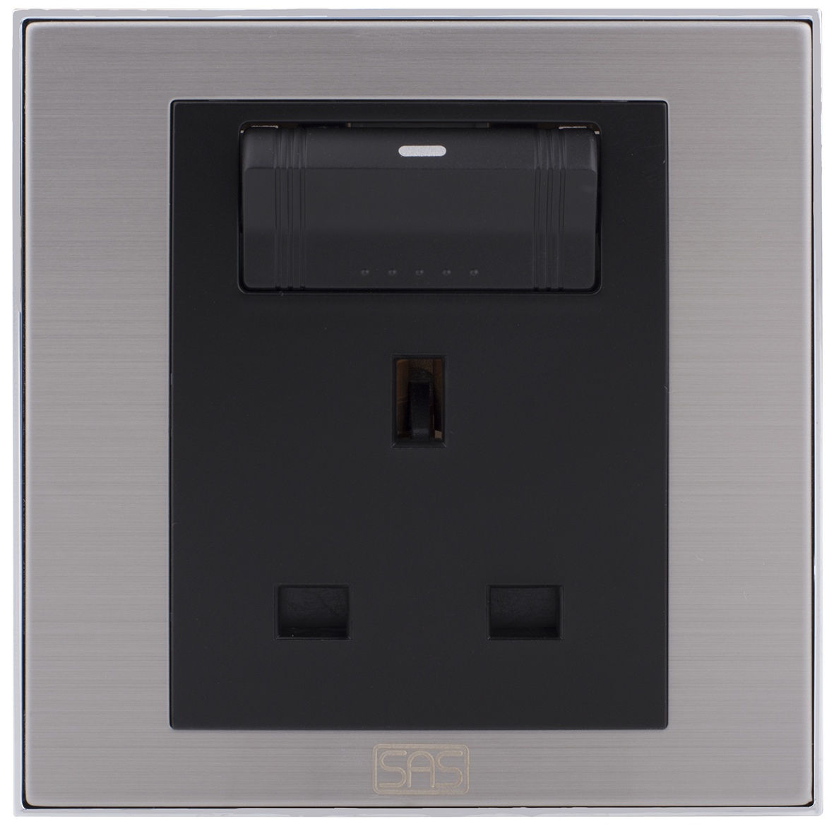 Socket British Type With Switch & Shutter (7x7 / 13A)