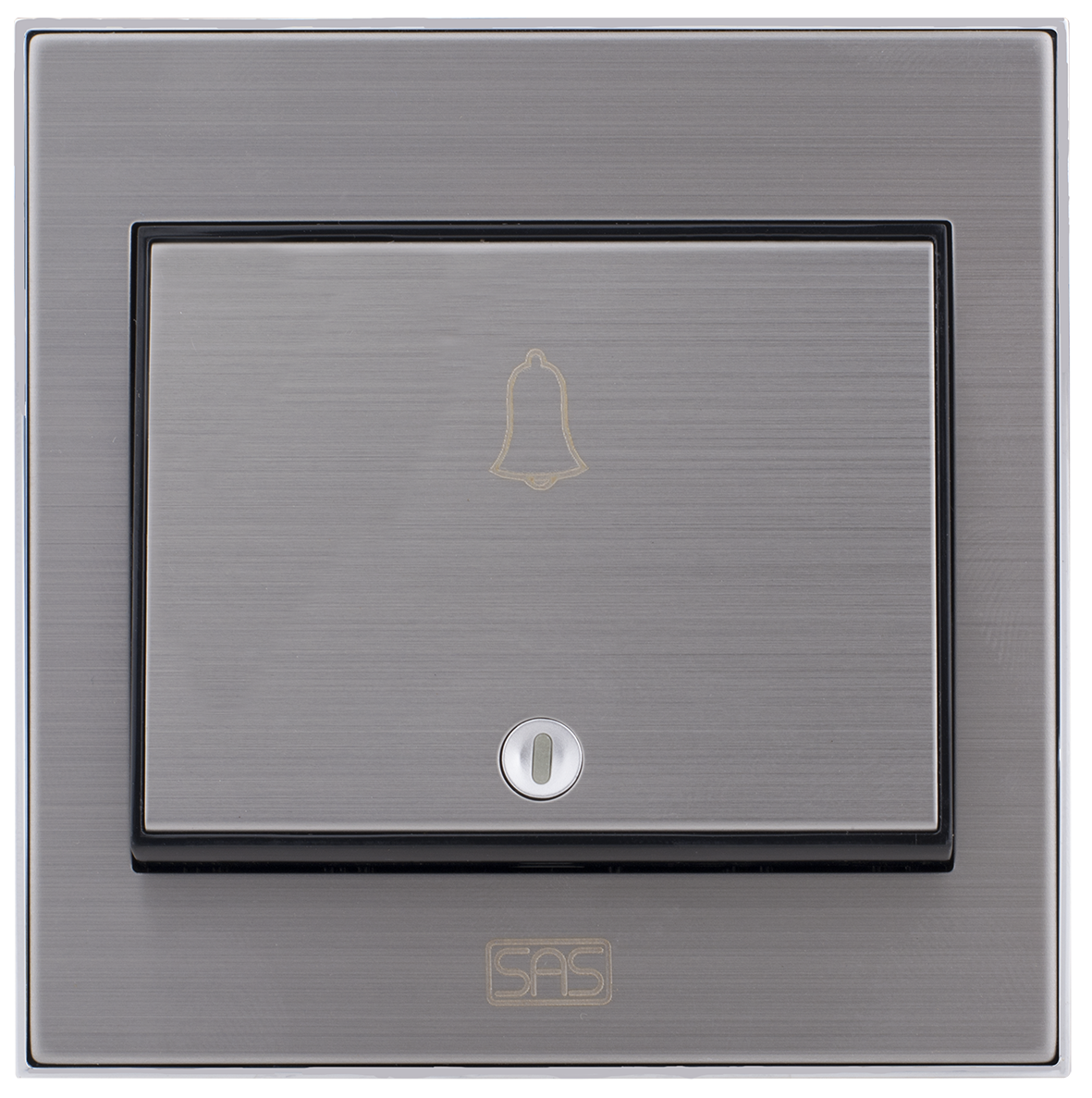 Door Bell Switch With Bell Icon (7x7 / 16A)