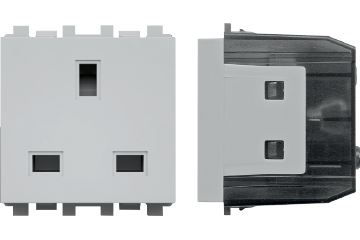 13A Socket British type with earth protection
