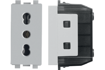 Italian Socket with earth protection (16 A)