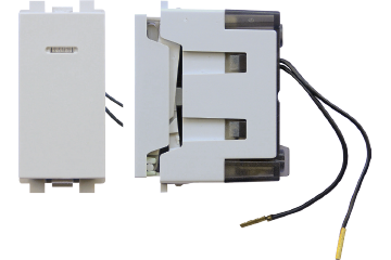 One/Two way switch with LED lamp 16AX (light grey)