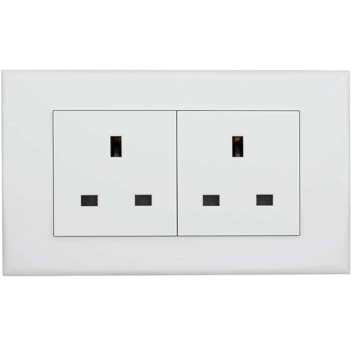 Double socket british type