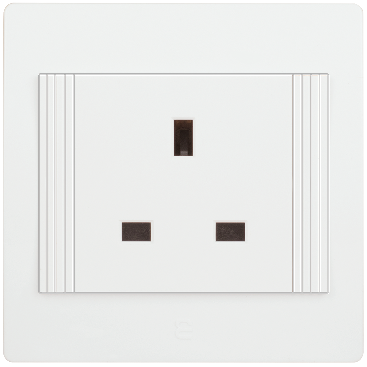Socket british type décor