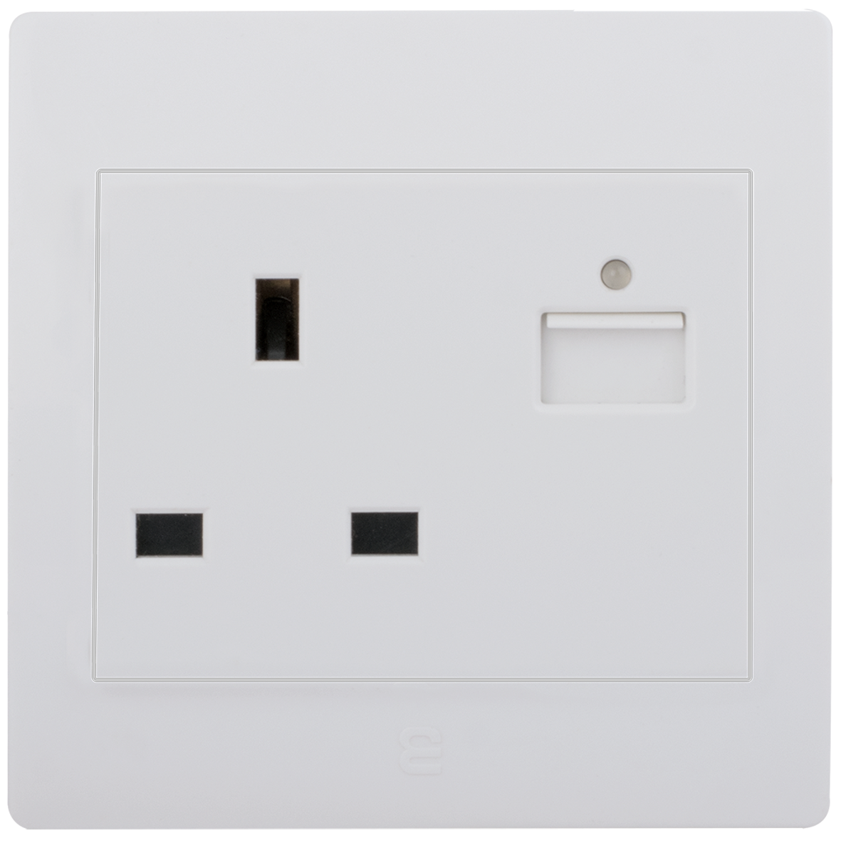 Socket british type with USB charger