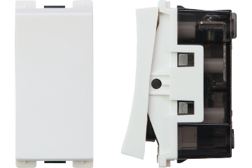 Two way switch 16AX (white)