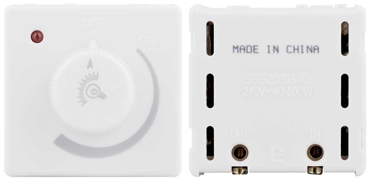 Light dimmer 500W (ivory)