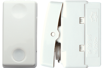 Doorbell switch with lamp 10AX (ivory)