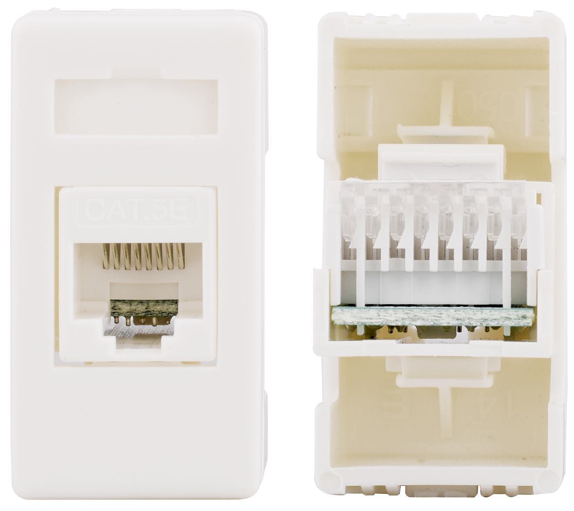 Computer socket CAT5e (ivory)