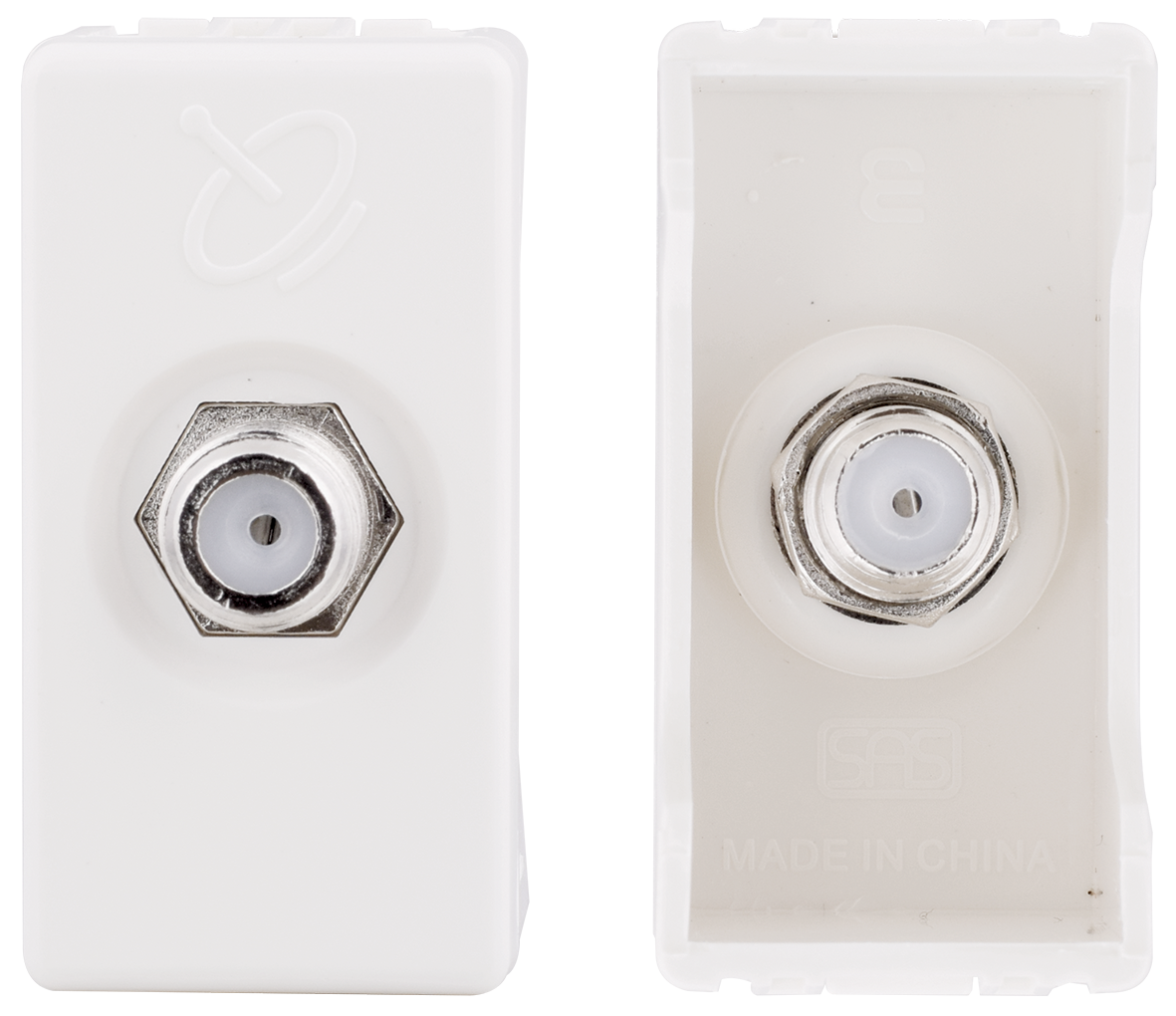 Satellite socket (ivory)