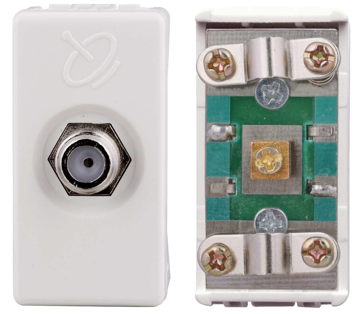 Satellite socket with screw