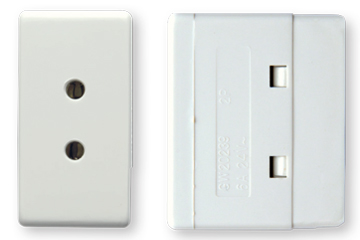 6A socket french type (ivory)