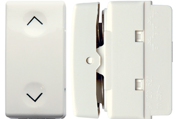 Curtain switch 2 clicks 10AX (ivory)