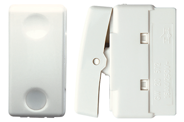 One way switch with lamp 16AX (ivory)
